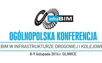 8-9.11.2016 Konferencja InfraBIM czyli BIM w infrastrukturze drogowej i kolejowej