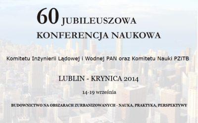 60. Jubileuszowa Konferencja Naukowa w Krynicy